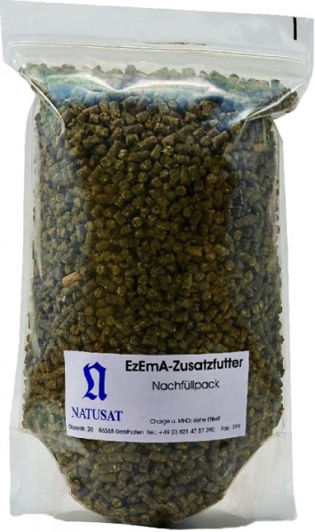 Natusat EzEmA Zusatzfutter Pellets