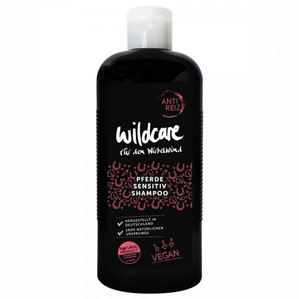 Wildcare Pferde Sensitiv Shampoo ANTI REIZ